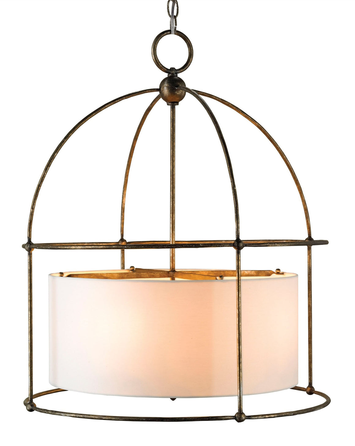 Currey and Company Benson Bronze Lantern