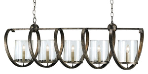 Currey and Company Maximus Bronze Chandelier