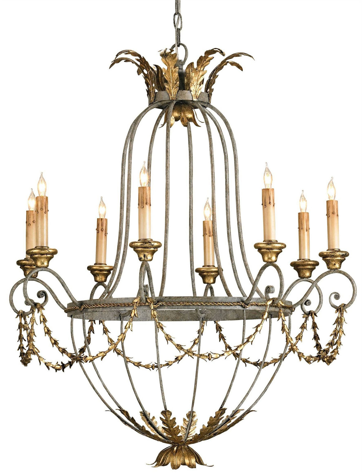 Currey and Company Elegance Chandelier