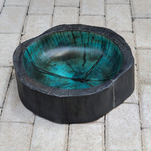 Uttermost Kona Modern Wood Bowl