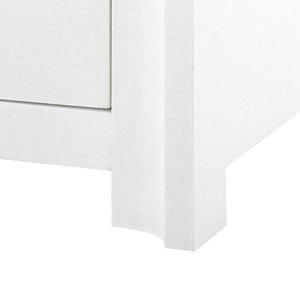 Bungalow 5 Audrey 3-Drawer & 2-Door Cabinet, White Lacquered