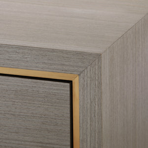 Bungalow 5 Blake 4-Door Cabinet , Taupe Gray