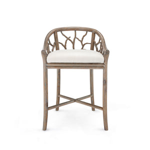 Bungalow 5 Bosco Counter Stool, Driftwood