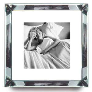 Worlds Away Beveled Mirror Frame Wall Art – MMonroe Bed