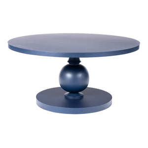 "Round Pedestal Cocktail Table – 40"" Dia. (23 Finish Options)"