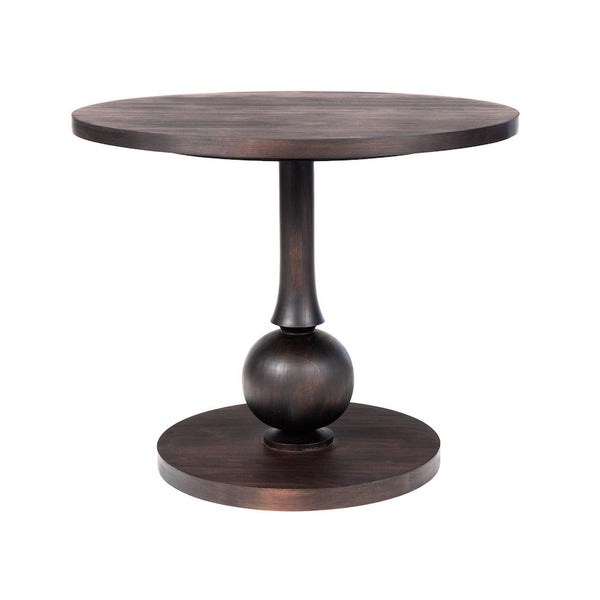 Beatrice Dinette Table with Turned Pedestal – 25 Finish Options