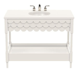 Capri Large Lacquer Vanity – White (19 colors available)