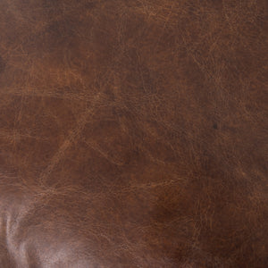 Larkin Leather Sofa - Cigar Brown
