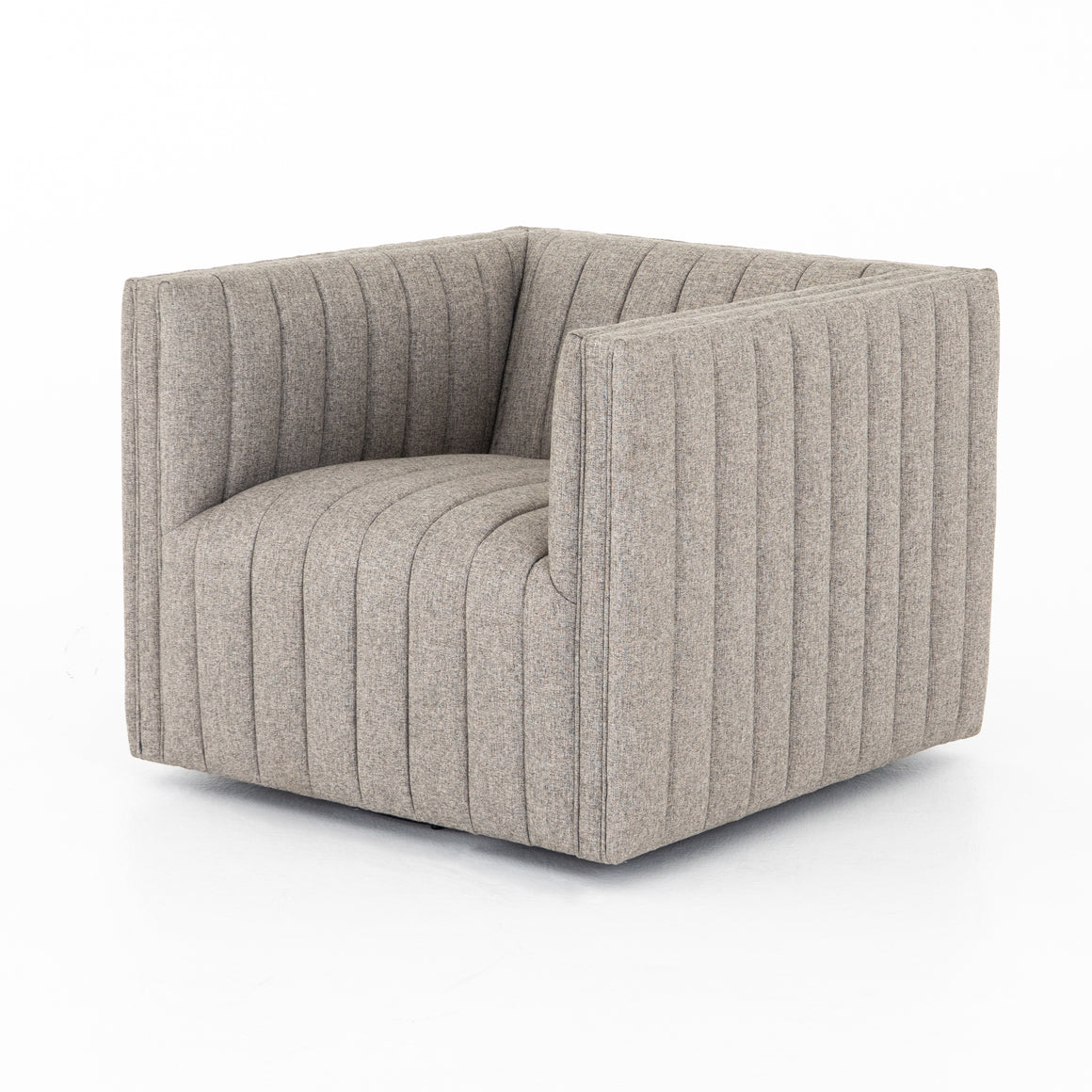 Augustine Swivel Chair - Orly Natural
