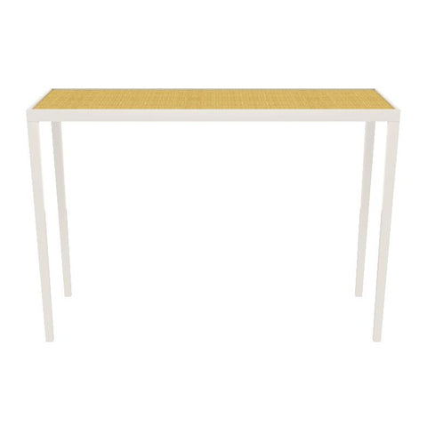 Simple Chatham Lacquer Console Table - White (19 colors/6 surfaces available)