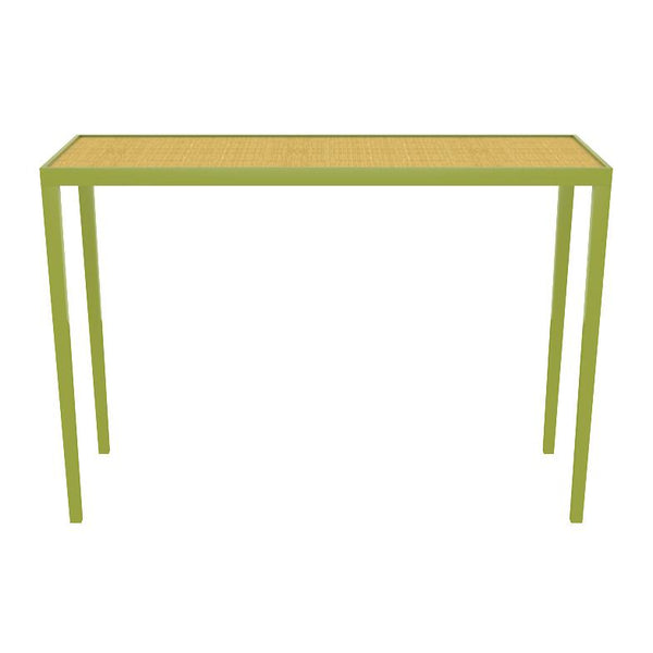 Chatham Lacquer Console Table - Lime Green (19 colors/6 surfaces available)