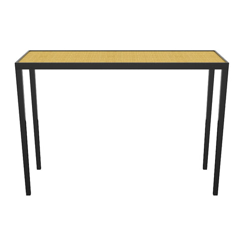 Chatham Lacquer Console Table - Black (19 colors/6 surfaces available)