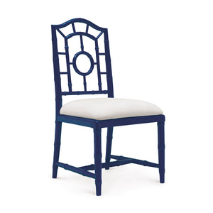Bungalow 5 Chloe Side Chair, Navy Blue