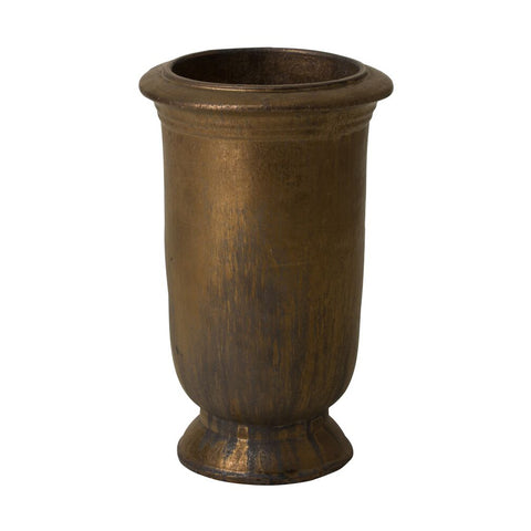 Cup Planter – Antique Gold