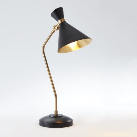 Cone Table Lamp – Bronze