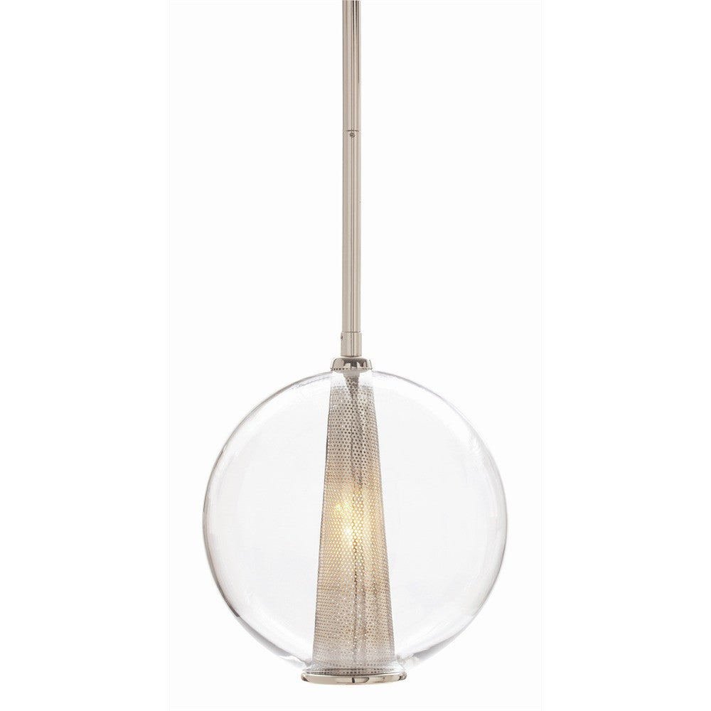 Arteriors Caviar Medium Globe Pendant Light
