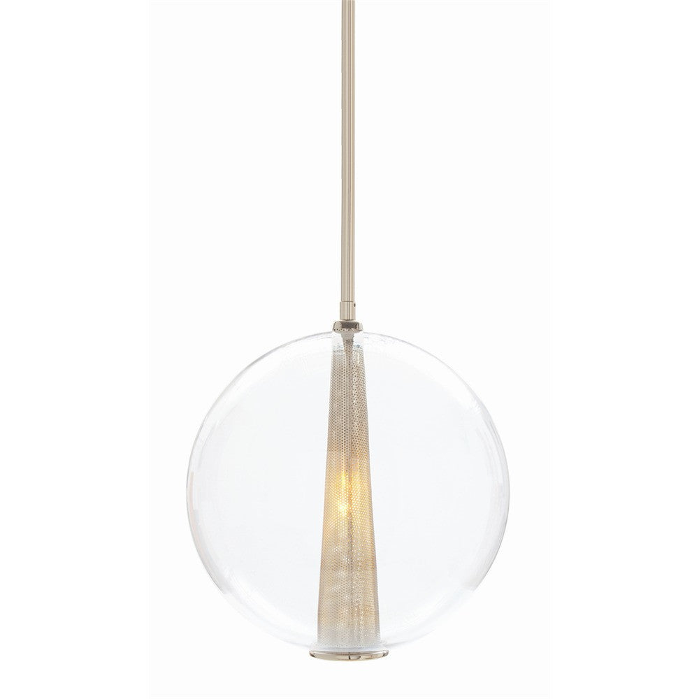 Arteriors Caviar Large Globe Pendant Light