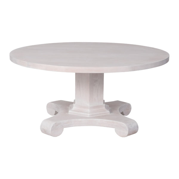 "Classical Round Pedestal Cocktail Table – 40"" Dia. (23 Finish Options)"