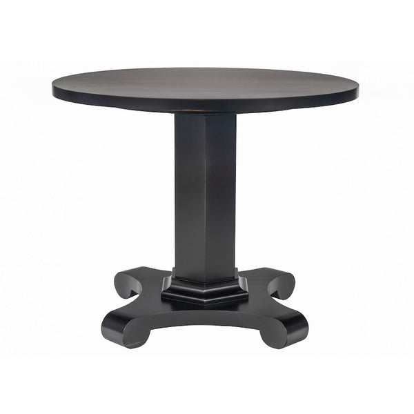Drake Classical Dinette Table with Pedestal – 25 Finish Options
