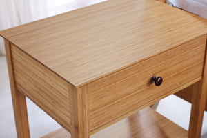 Willow 1 Drawer Nightstand, Caramelized