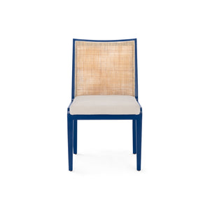 Bungalow 5 Ernest Side Chair - Navy Blue