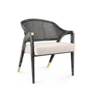 Bungalow 5 Edward Lounge Chair, Black