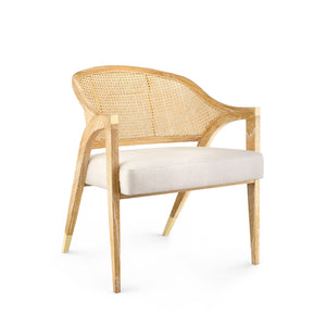 Bungalow 5 Edward Lounge Chair, Natural