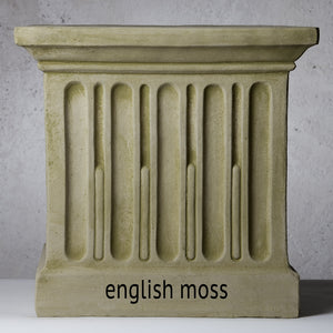 Extra Large Cast Stone Low Tribeca Planter - Greystone (Additional Patinas Available)