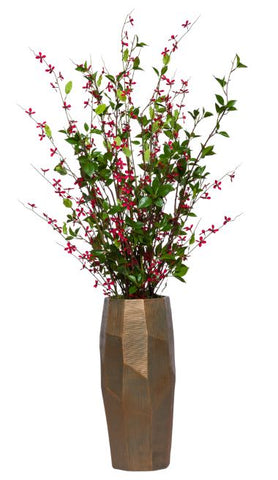 Tall Meadow Blossom Floor Arrangement - Red