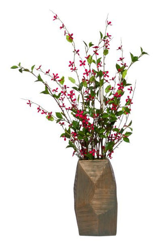 Tall Meadow Blossom Arrangement - Red