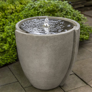 Stone Concept Basin Fountain - Greystone (Additional Patinas Available)