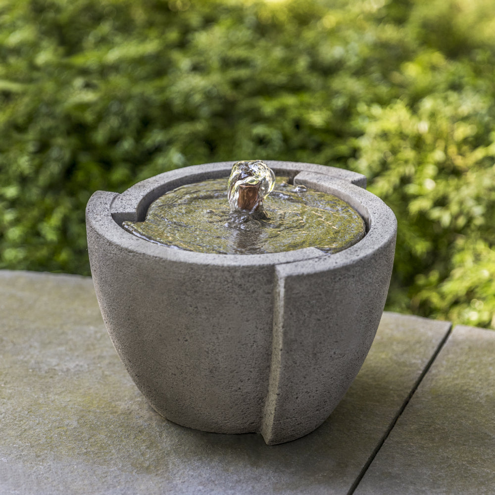 Small Stone Concept Fountain - Greystone (Additional Patinas Available)