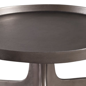 Kenna Nickel Accent Table