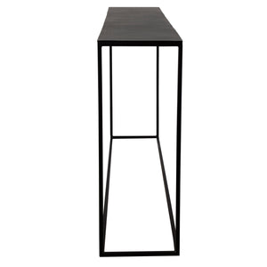 Coreene Large Industrial Console Table