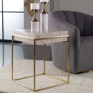 Uttermost Inda Modern Accent Table