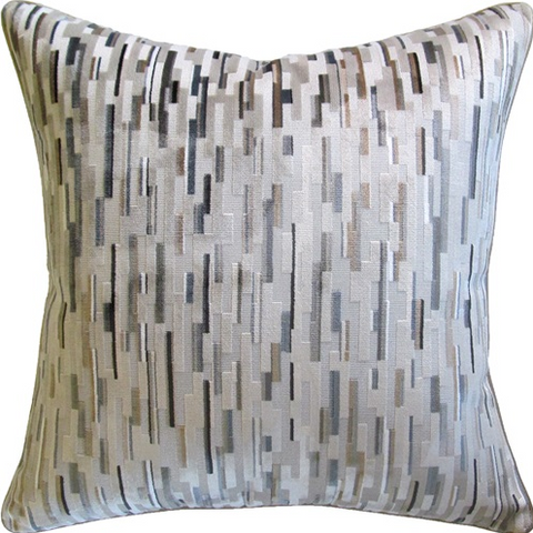 Staggered Blocks Pillow - Neutrals