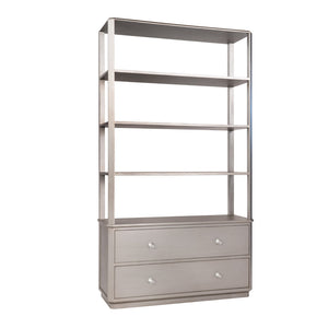 Felix 2-Drawer Bookshelf – 25 Finish Options