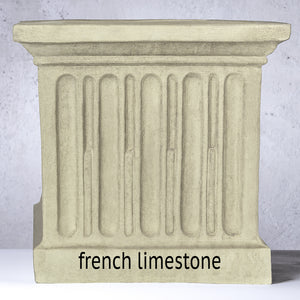 Longwood Volute Handle Urn Planter - Greystone  (14 finishes available)