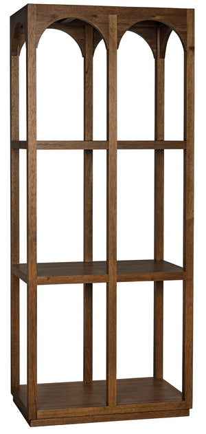 Noir Arco Shelf - Walnut