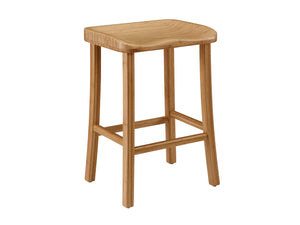 Tulip Counter Height Stool, Caramelized, (Set of 2)