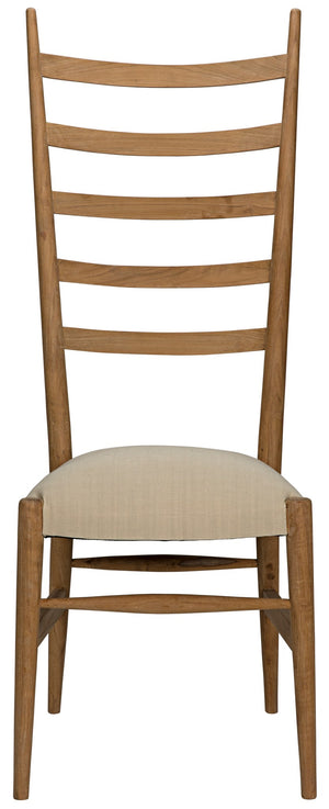 Noir Ladder Chair - Teak