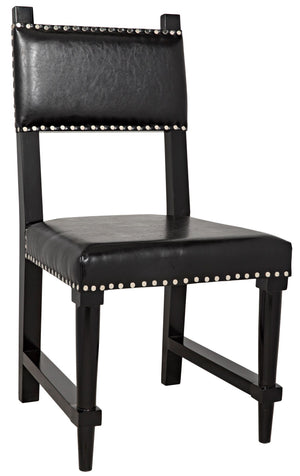 Noir Kerouac Chair - Black