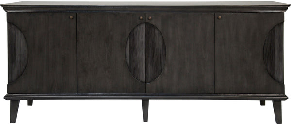 Noir Dumont Sideboard - Pale Charcoal Brown