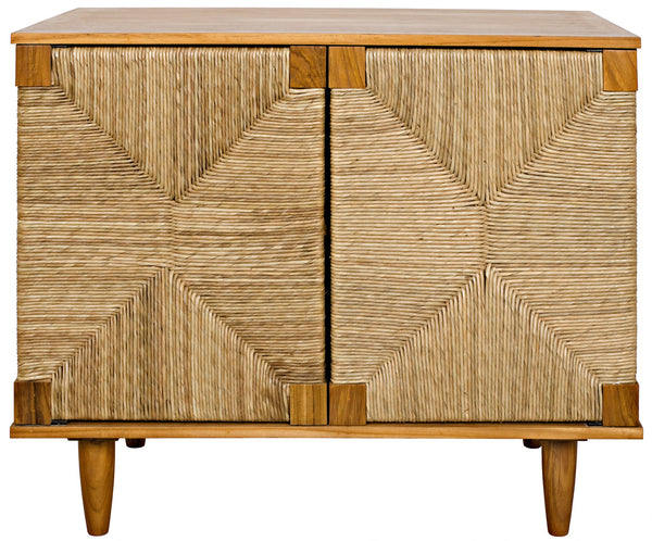 Noir Brook 2 Door Sea Grass Sideboard