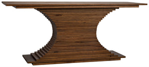 Noir Cambio Ridge Console - Dark Walnut