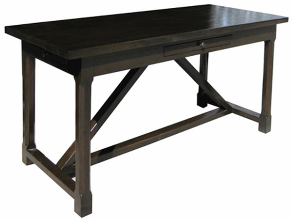 Noir Sutton Desk - Distressed Brown