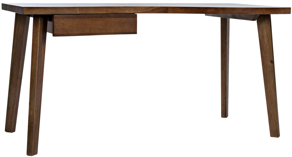 Noir Adonis Simplicity Desk - Dark Walnut