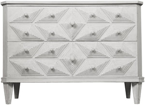 Noir Giza Dresser - White Weathered