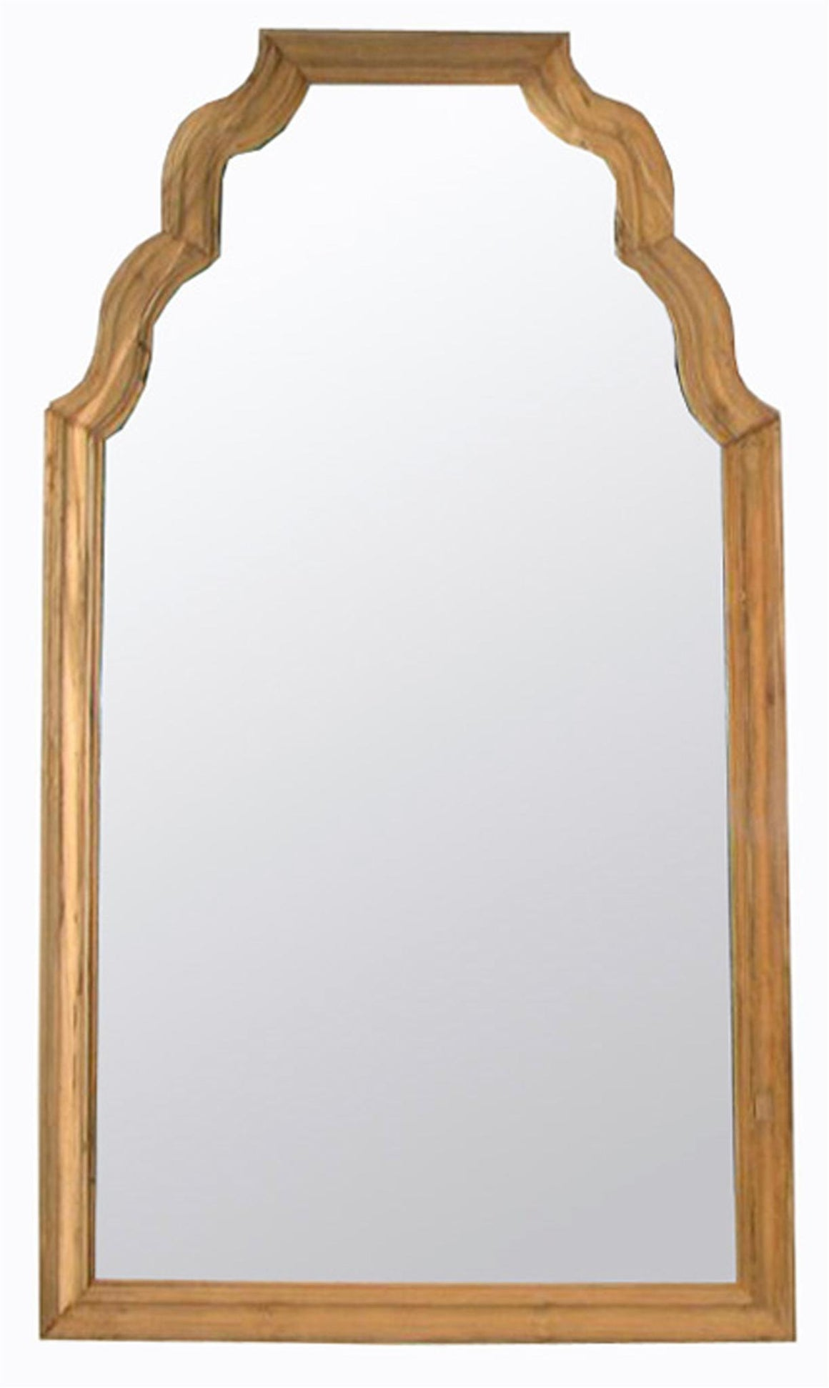 Noir Teak Floor Mirror - Reclaimed Teak