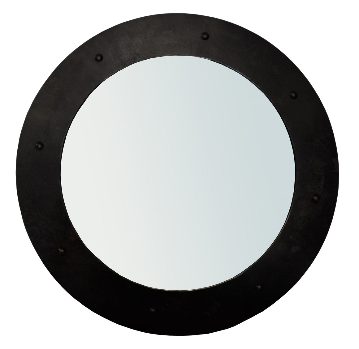 Noir Clay Mirror - Black Metal - Large